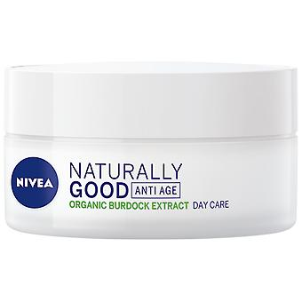 Nivea Crema de día antiarruga Naturally Good 50 ml