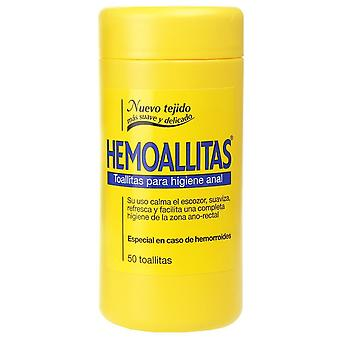 Reckitt Benckisier Hemoallitas Hygienetücher 50 Stck,