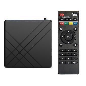 For android 9.0 tv box 4gb ram 32gb rom smart tv set top box amlogic s905 mx+s qpro 4k home audio video equipment