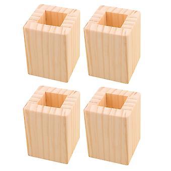 4xwood muebles para el hogar elevadores elevadores 3cm agujero cuadrado 5CM altura de elevación