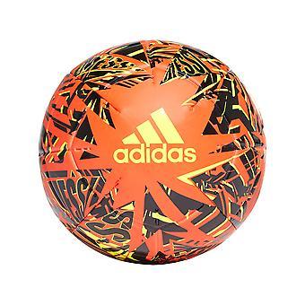 アディダス メッシクラブ サッカー ボール オレンジ/ブラック