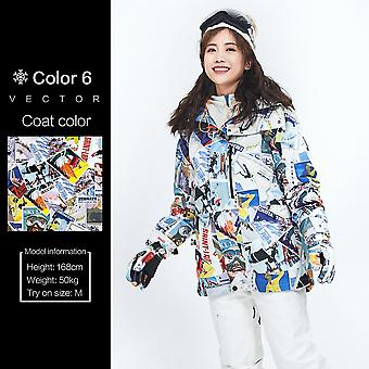 Snowboard Skiing Fashion Coat Chic Tops