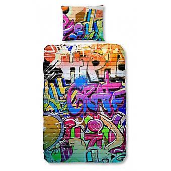 Graffiti duvet cover 135 x 200 cm