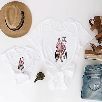 Äiti ja tytär vaatteet, Super Baby t-paita, Kaunis T-paita