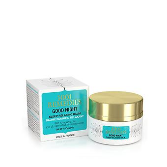 Sleep aid balm with lavender for stress and anxiety relief 100% natural & cruelty free - good night made in france