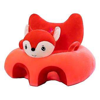 Cartoon Animal Baby Seat Sofa Infant Learning Sitting Chair Plush Support