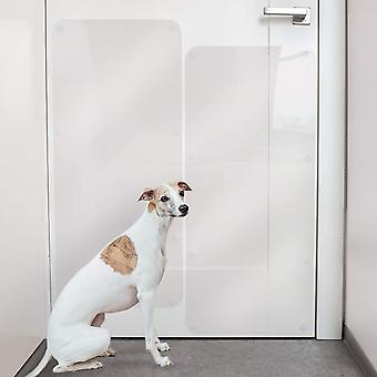 "Door Scratch r – Dog & Cat Anti Claw Guard – 35 x 15"" Heavy Duty Shield to"