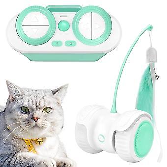 Pet LED Intelligent Remote Control Funny Cat Toy Car Electric Funny Cat Toy Remote Control Balance