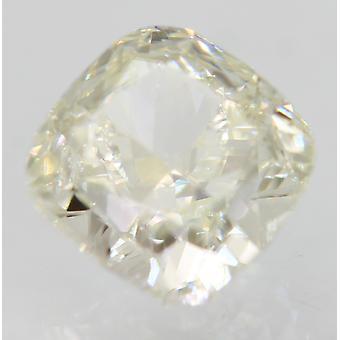 Sertifioitu 0,78 karat H Väri VVS1 Tyyny Natural Loose Diamond 4.82x4.79mm