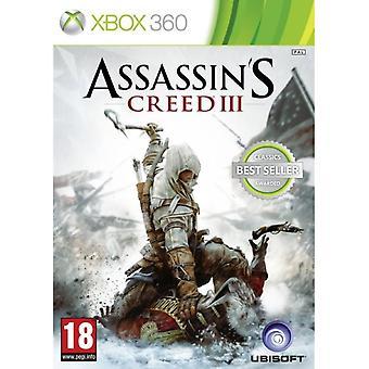 Assassin's Creed III 3 (Klassiker) Xbox 360 Spel