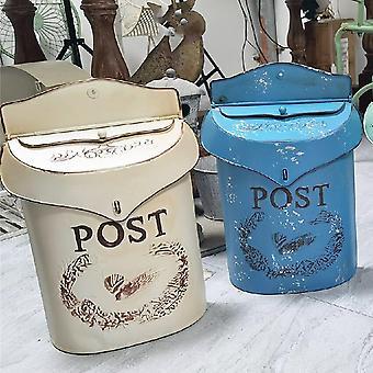 Vintage Courtyard Ulko postilaatikon sisustus käsityöt