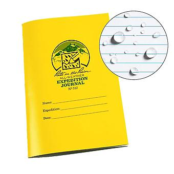 Rite In The Rain Expedition Journal, Side Stapled 4.5 x 7 Inch - Yellow