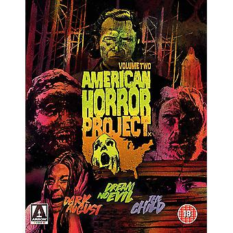 American Horror Project Volume 2 Limited Edition Blu-Ray