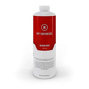 EK Vattenblock EK-CryoFuel Blodröd förblandningsvätska - 1 liter