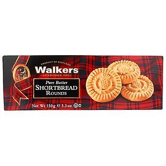 Walkers Shortbread Rnd, Case of 12 X 5.3 Oz