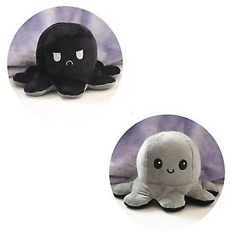 Double-sided Flip Octopus Doll,with Two Expressions