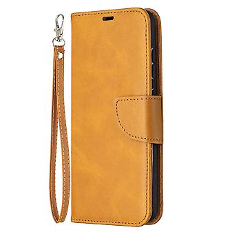 Case Samsung Galaxy A52 4g/5g Leather Cover Folio Wallet Yellow