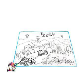 Matto DIY Fantastinen Väri Kaupunki 111330