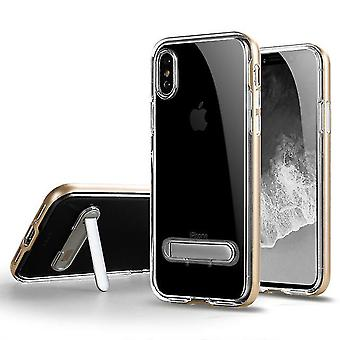 Shockproof shell case with stand for Huawei P30 Pro - Gold