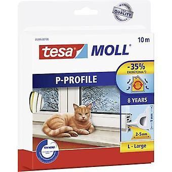 Tesamoll® P-profiilista 10 m x 9 mm valkoinen