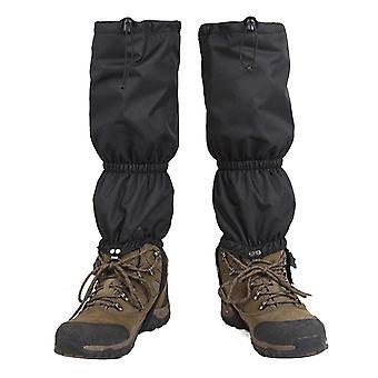 Zăpadă genunchi gaiters fibra de iarna impermeabil picior de protecție de protecție pentru drumeții în aer liber alpinism