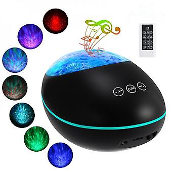 Ocean Projection Lamp Dream Music Ambient Light Bluetooth Remote Control Led