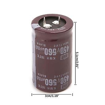 Sähköhitsaaja 450v 560uf Alumiini Elektrolyyttinen kondensaattori