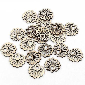 Pattern Handmade Wooden Crafts Accessory