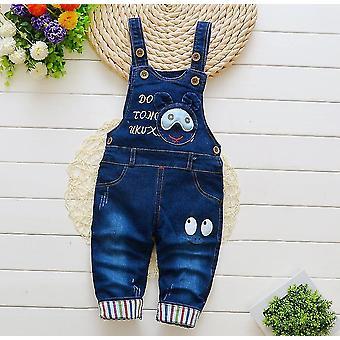 Overalls newborn baby trousers infant cotton cute jeans little suspenders denim pants