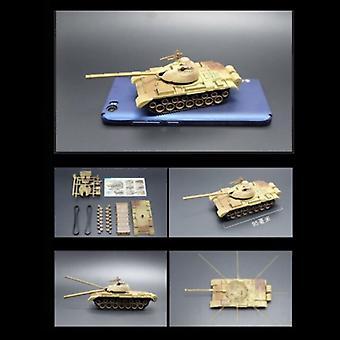 UAINCUBE T-55A Сборочные комплекты 1:72 Масштабная модель - Немецкий армейский танк Пластик Хобби DIY Модель