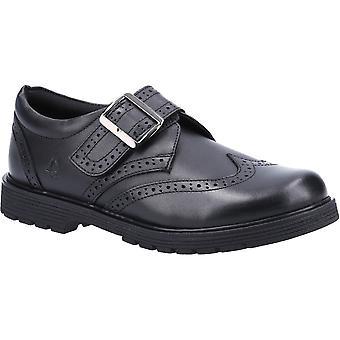 Hush Puppies Meninas Rhiannon Junior Escorregar em sapatos escolares