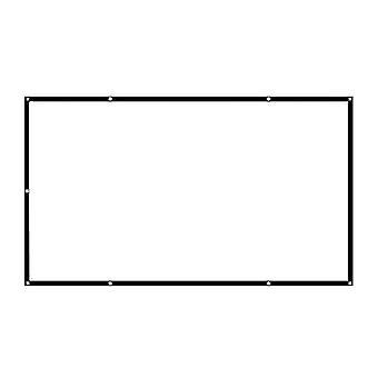 Yksinkertainen taittuva näyttö projektorille