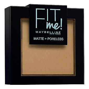 Powdered Make Up Fit Me Matte & Poreless Powder 350 Maybelline Caramel (9 g)