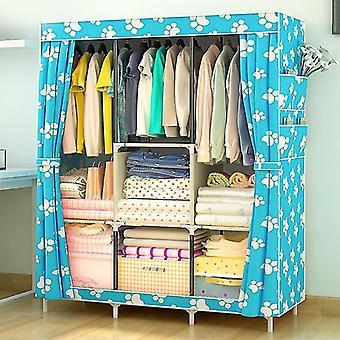 Non-woven Cloth Wardrobe Fabric Closet Portable Folding Storage Cabinet