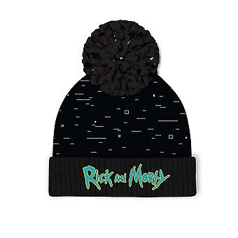 Rick And Morty Pixel Beanie