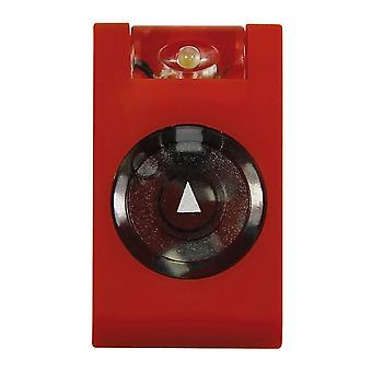 Mighty Bright LED Rubberized MicroClip Light - Red