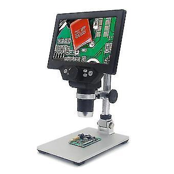 Telescopes inskam315 7 inch ips high definition screen industrial digital microscope camera 0-2000x