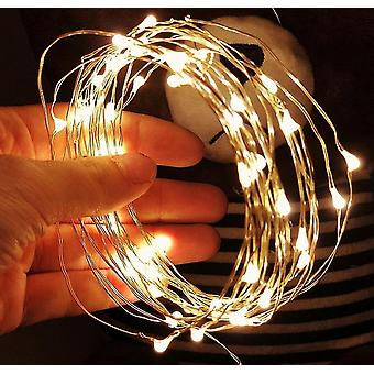 5 Meter lange USB-betriebene LED-String-Lichter (Warm)