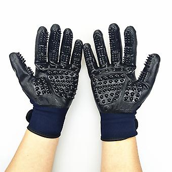 Coat Care Gloves Suitable For Horses, Dogs And Cats, A Judicious Alternative To The Bristle Brush To Spend Beautiful Moments With Your Four-legged Fri