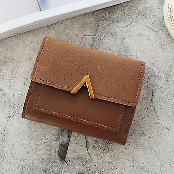 Neue Damen Geldbörse Kurze Frauen Münze Geldbörse Brieftaschen Kartenhalter Damen Kleine Brieftasche Weiblich Hasp Mini Clutch Mädchen Geldbeutel