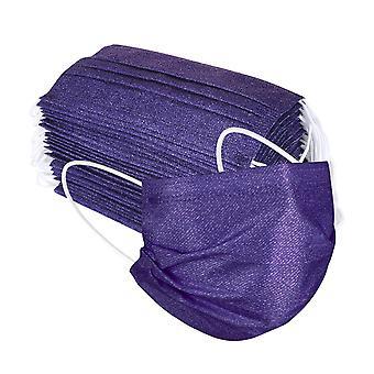 Luftrenande ansiktsmaskskydd 3 lager munfiltermasker 50st