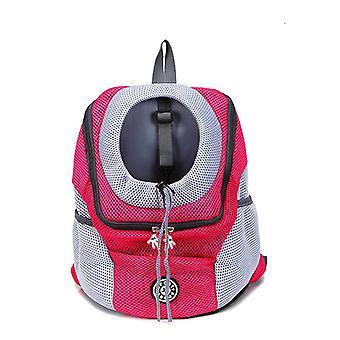Dog Carrier Bag Strap Dog Shoulder Portable Travel Backpack Outdoor Breathable Dog Bag Pet Supplies