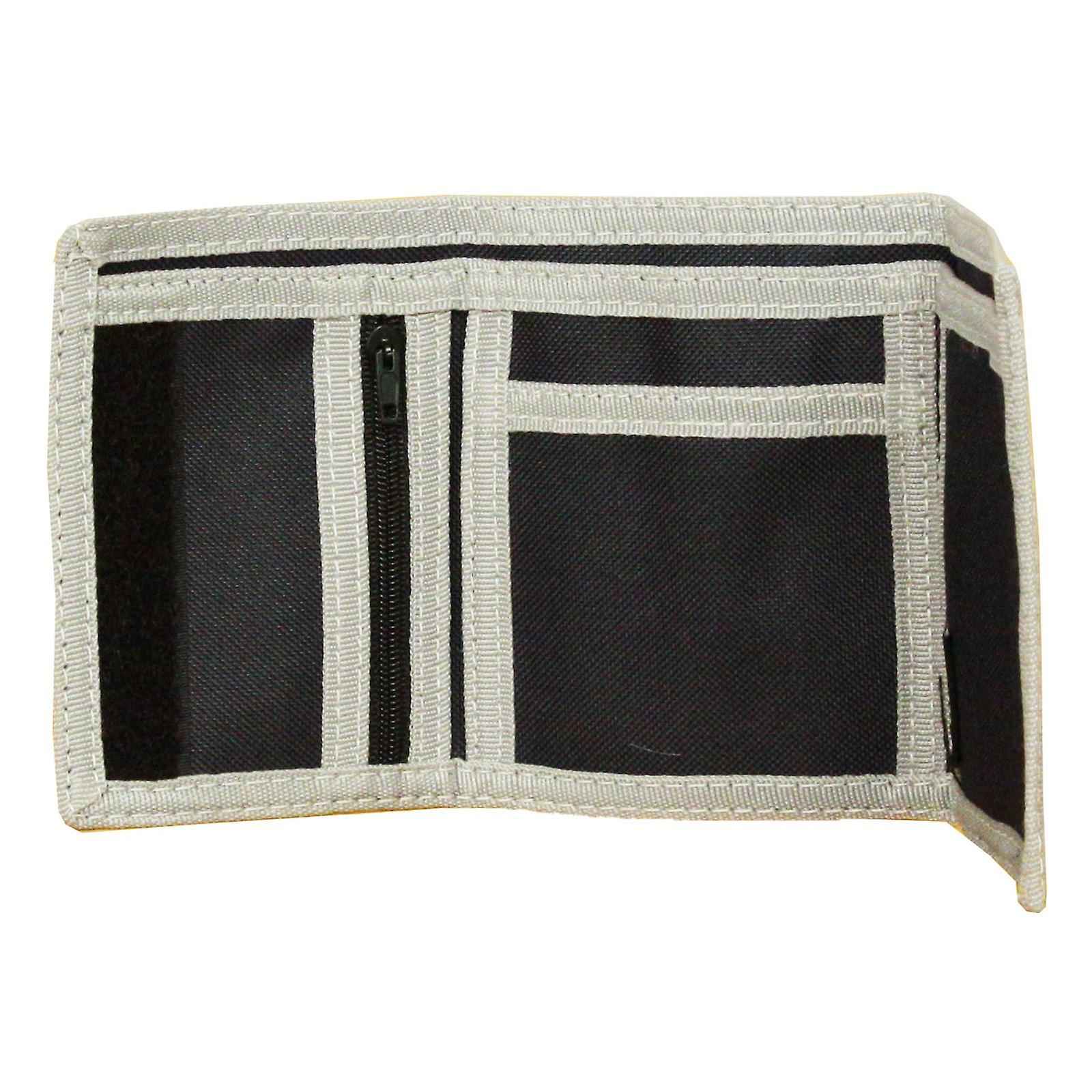 Element Trifold Wallet With Internal Pockets and Zipped Coin Section ~ Elemental navy