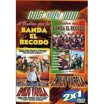 Banda El Recodo/Emilo Varela [DVD] USA import
