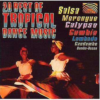 Música de baile tropical - 20 mejores de Tropical Dance Musi [CD] USA importar