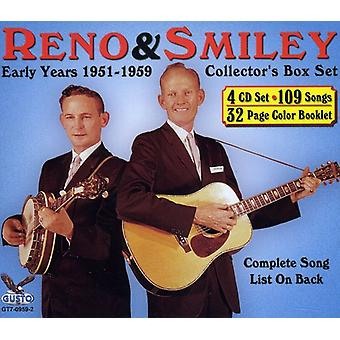 Reno & Smiley - Box Set: Early Years 195 [CD] USA import