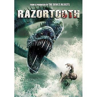 Razortooth [DVD] USA import