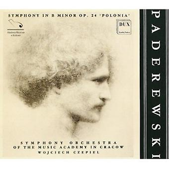 I.J. Paderewski - Paderewski: Symphony in B Minor Polonia [CD] USA import