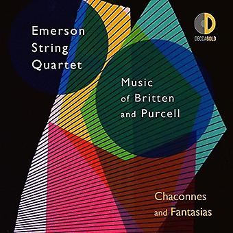 Emerson String Quartet - Chaconnes & Fantasias: Music of Britten & Purcell [CD] USA import