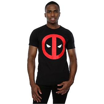 T-shirt Logo pulito di Deadpool Marvel uomo